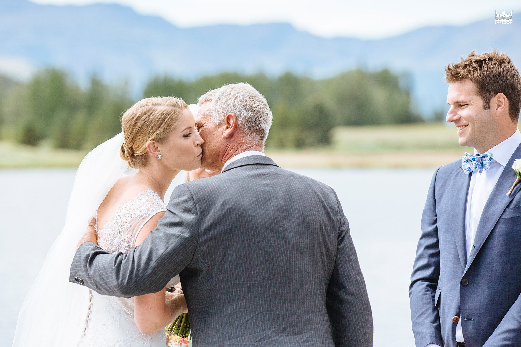 Wedding ceremony,jacks point,queenstown wedding