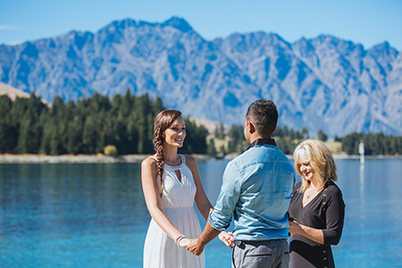 Queenstown Lakefront Wedding