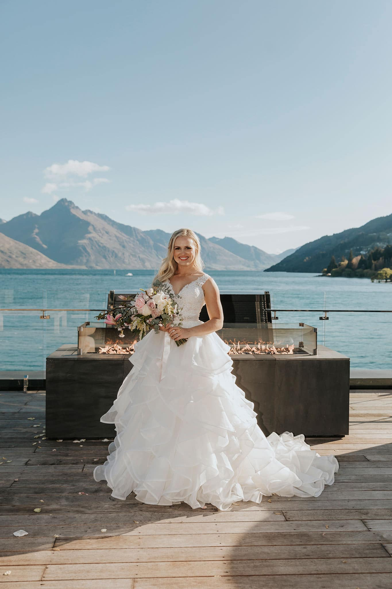 Wedding Photography at Eichardts Hotel, The Penthouse in Queenstown