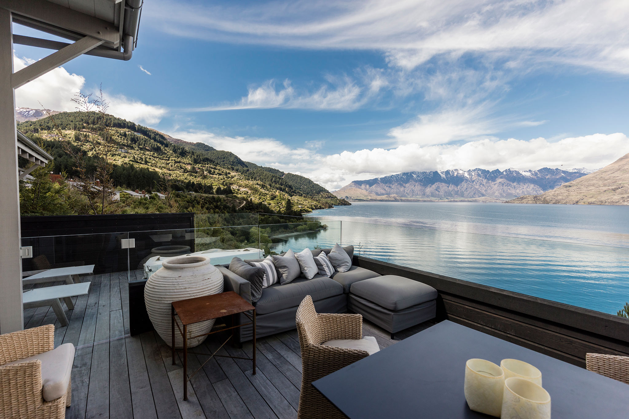 Wedding at Matakuri Lodge, The Owners Cottage in Queenstown